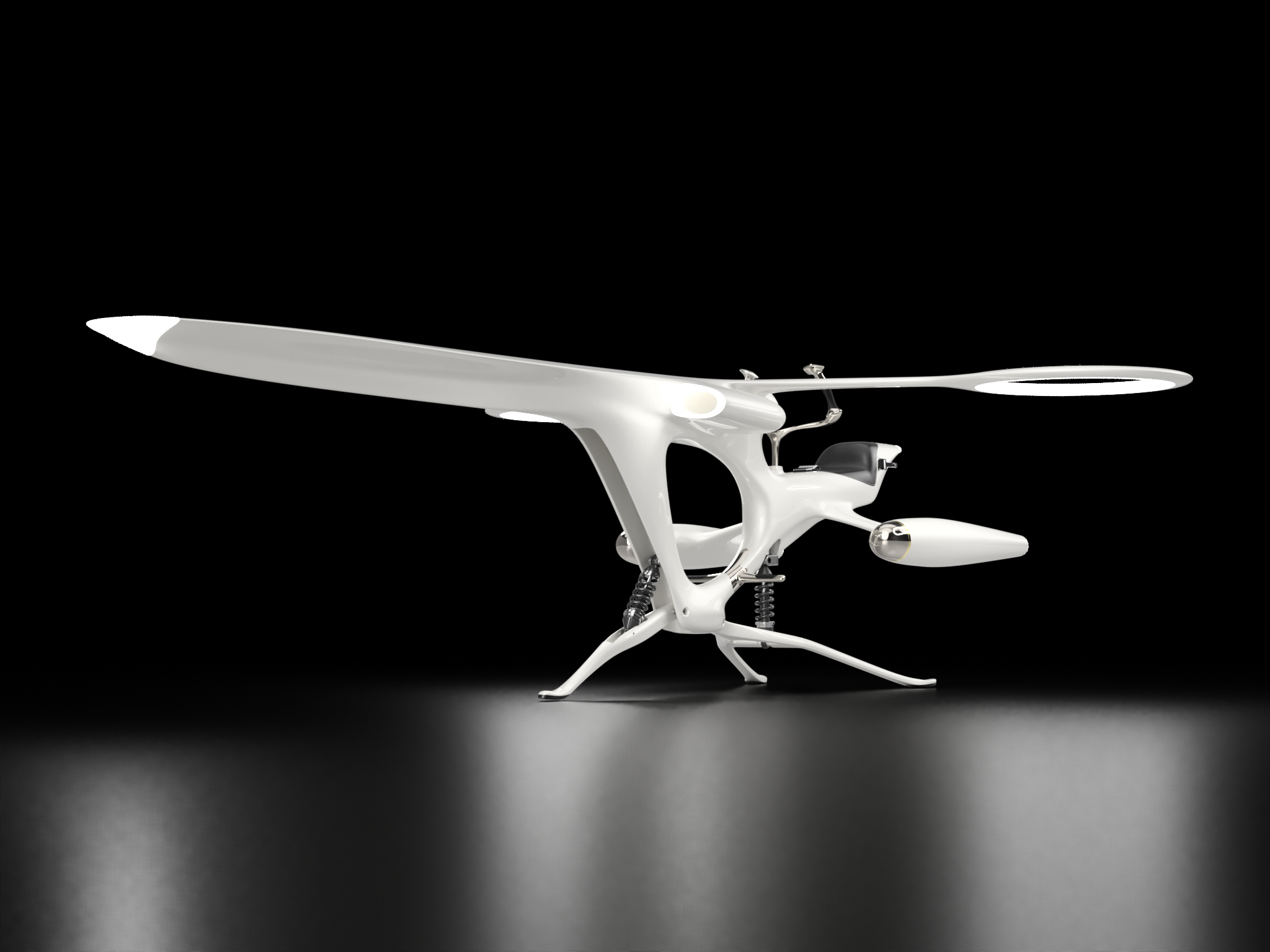 Libellule Drone for Kossi Aguessy